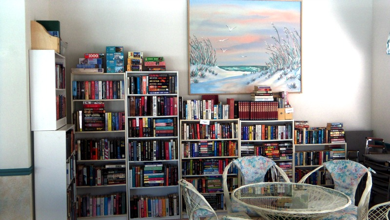 Library at Clubhouse