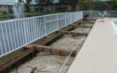 Pool Deck Constuction