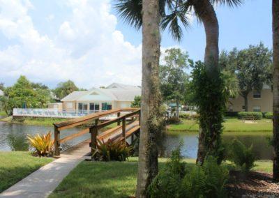 Over Bridge to Pool