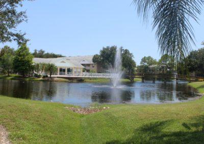 Pebble Shores Lake, Fountain, and Pool