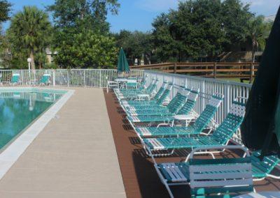 Pebble Shores Pool Deck
