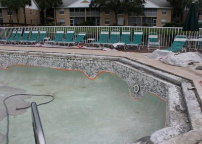 7-14-17 Pool removal of tile