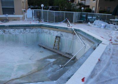 8/8/17  molding on pool