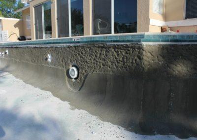 8/21/17 adding binder on sides of pool