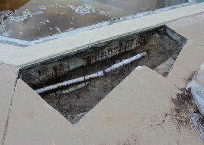 8/31/17 leak repair progress